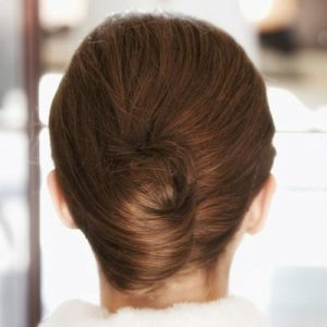 How to do a French twist for long hair?