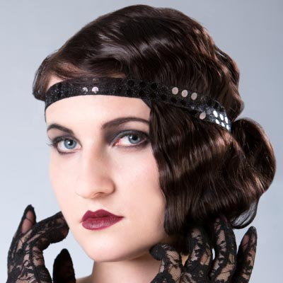 1920s Hairstyles from Great Gatsby and Downton Abbey