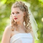 Half Up Wedding Hairstyles 150x150