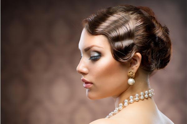 Pearl, Vintage Hairstyles, Vintage Finger Waves Jpg, Hairstyles Finger