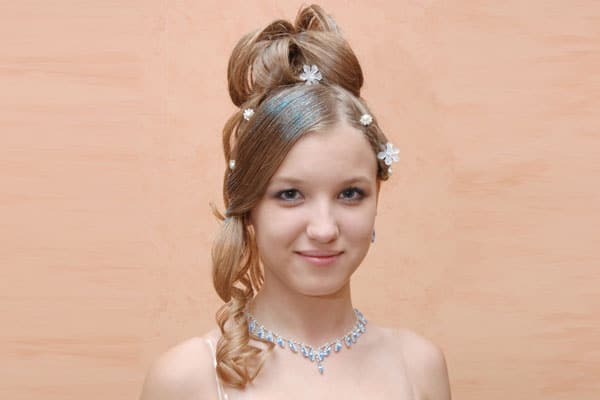 Fantastic 5 Pretty Quinceanera Hairstyles Hairstyles For Men Maxibearus