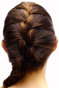 What's a cute, easy and fast hairstyle?