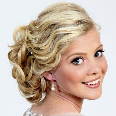 Strange Curly And Cute Prom Updos For 2014 Short Hairstyles For Black Women Fulllsitofus