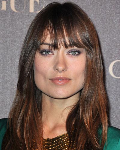 Marvelous 10 Celebrity Hairstyles With Bangs Pictures Hairstyles For Men Maxibearus