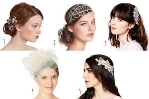 5 Vintage Wedding Hair Accessories
