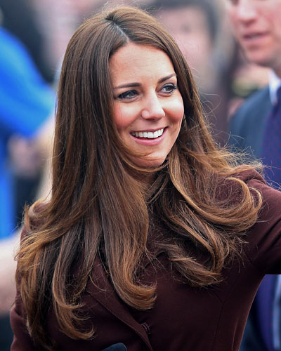 How to Get Kate Middleton Hair - Fine Straight Hairstyles