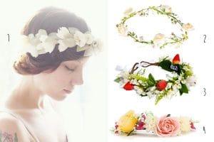 Unique Wedding Hair Accessories: The Flower Crown