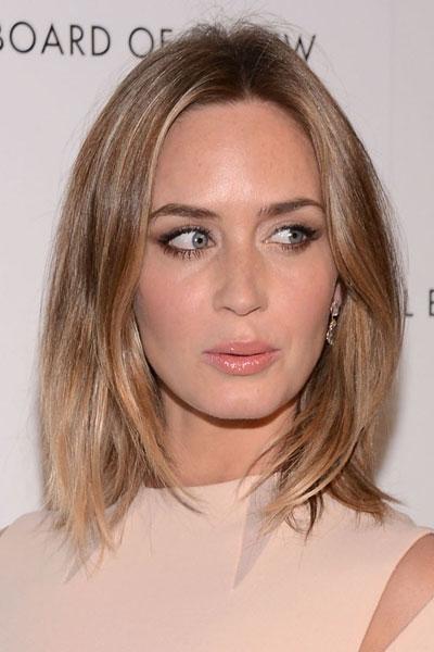 Surprising 5 Celebrity Long Bob Hairstyles Hairstyles For Women Draintrainus