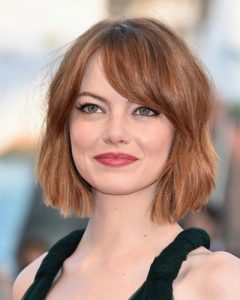 We heart the Emma Stone bob