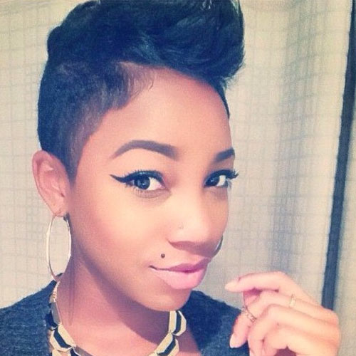 Undercut Hairstyles For Black Women