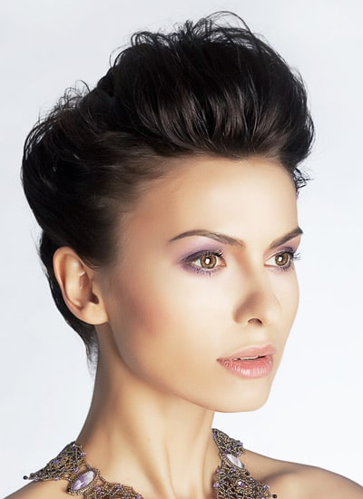 Phenomenal Quiff Hairstyles For Women Short Hairstyles Gunalazisus