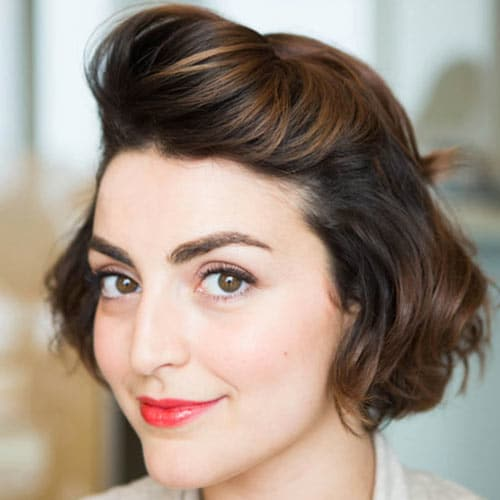 Party And NYE Hairstyles For Medium Hair