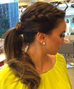 Easy New Year's Eve Hairstyle