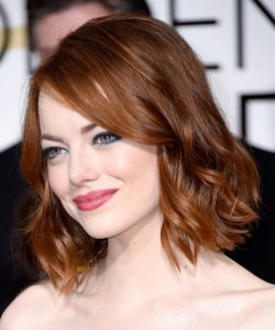 Emma Stone: Celebrity Medium Length Hairstyles