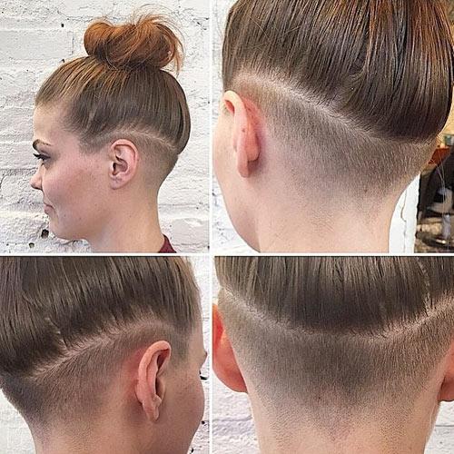 Awe Inspiring Undercut Hairstyles For Women 2017 Short Hairstyles Gunalazisus