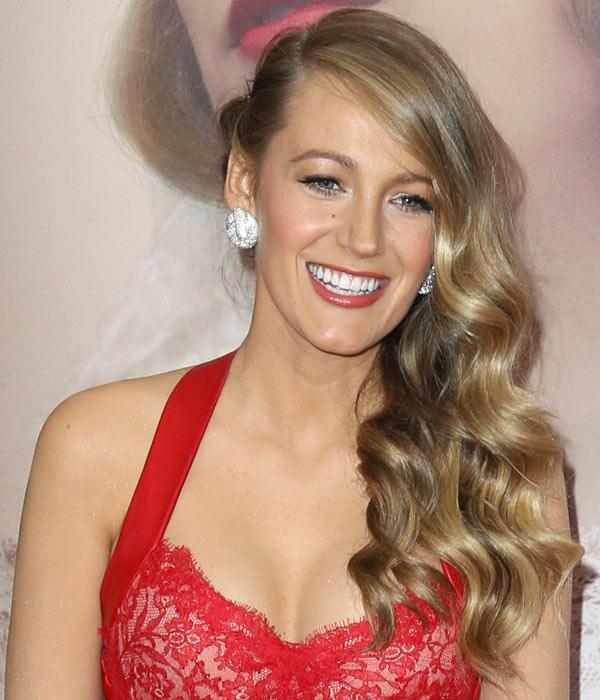Blake-Lively-Vintage-Curls-Prom-2015-
