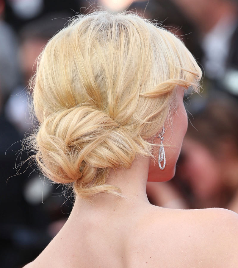 Wedding Hairstyles Youtube: Celebrity Updos 2015: The Low Messy Bun