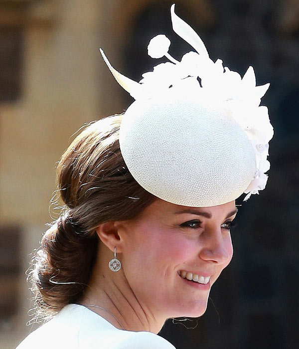 Kate Middleton's Christening Updo