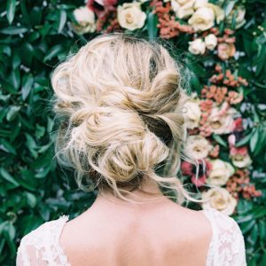 A Pretty and Messy Updo 2015