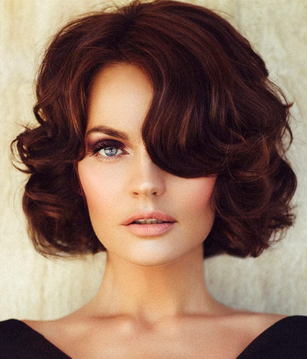 Hairstyles For Short Hair Upto Shoulders : Curly-Hairstyles-for-Medium-Hair-