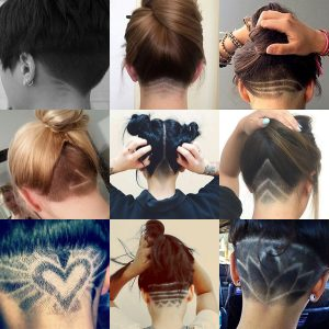 Nape Undercut Designs for Women