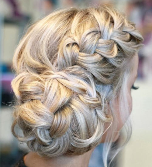 Wedding Hairstyles Youtube: Braided Updos 2015