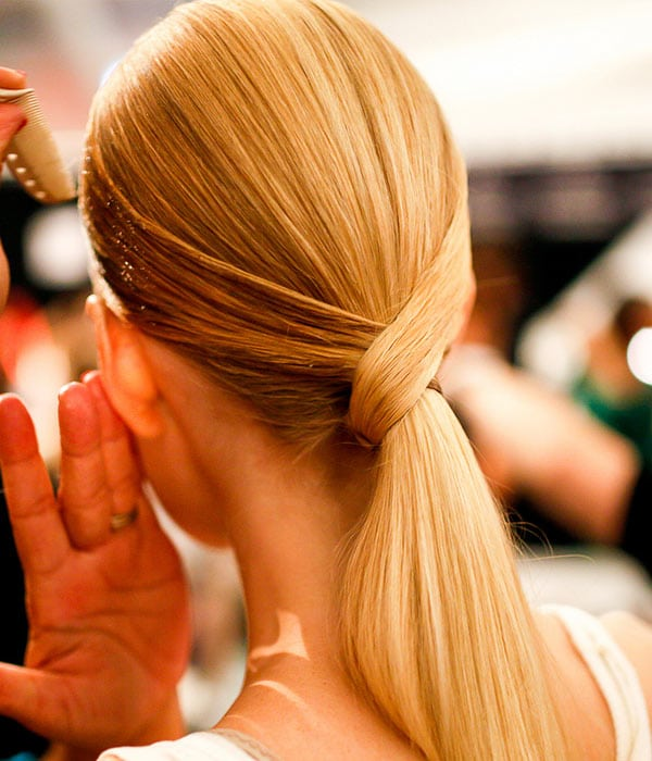 High Fashion Ponytail by Aveda