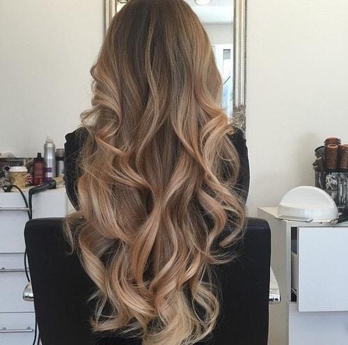 Bronde Ombre Hair-