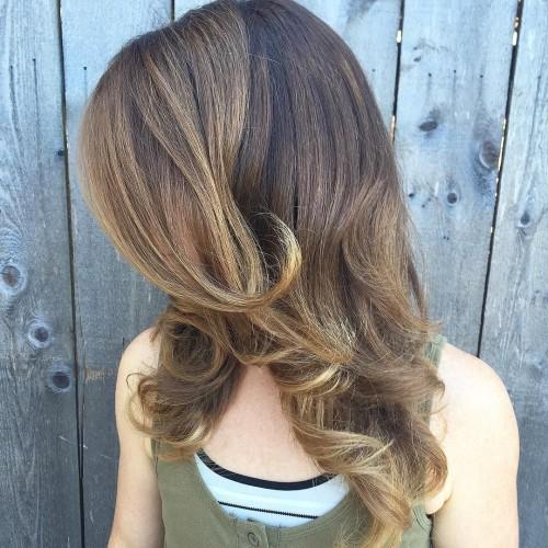 alyssaadamshairart_-just curl the ends of hair