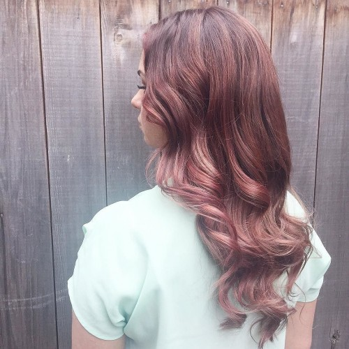alyssaadamshairart_-wavy curls for long hair