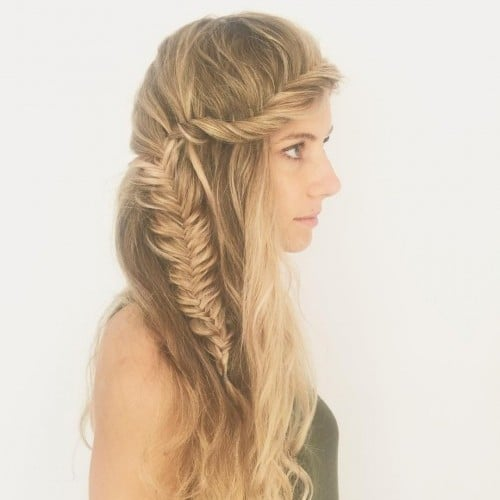 andihaynes-bohemian-hair-fishtail-crown-braid