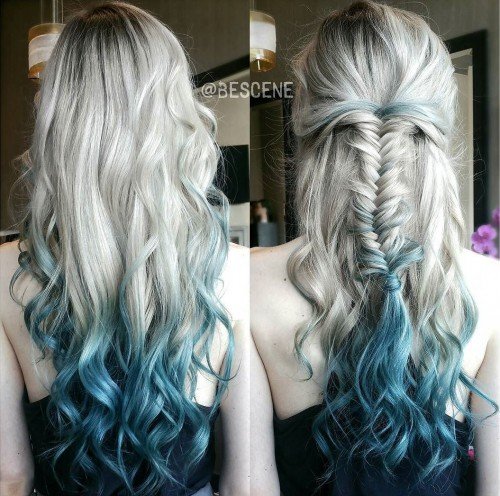 bescene-aqua-blue-ombre-color-fade-hair