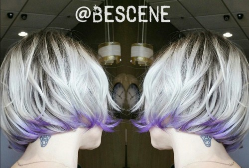 bescene-white-hair-lavender-color-dip-medium-hair