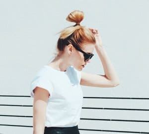 Easy Hairstyles: The Half Bun aka The Hun