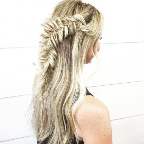 blohaute-Fishtail Wrap Around Braid-