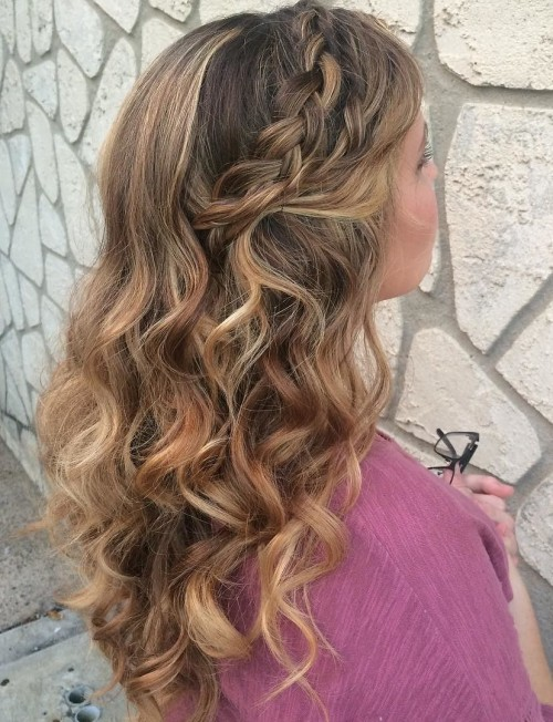 inkandshadow_-braided hairstyles with curls