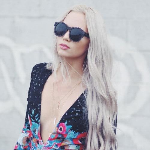 kirstenzellers_-mermaid waves platinum hair