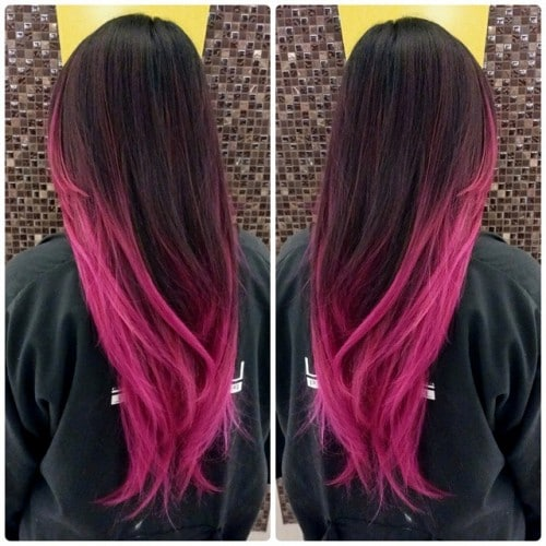 lavenderblondie-color-melt-ombre-hot-pink