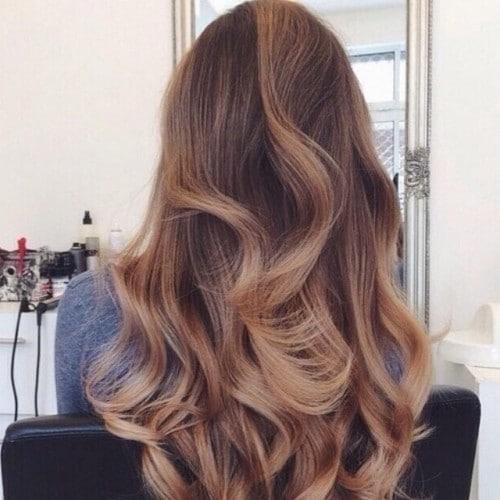 parlonscheveux_-brunette highlights curls