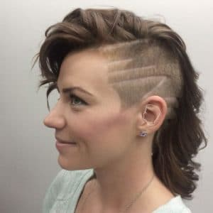Undercuts for Women Hit the Barbershop