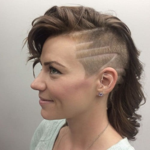 Undercuts For Women Hit The Barbershop