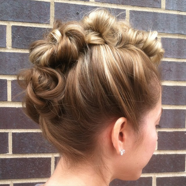 tina.tobar-braided-and-twisted-mohawk-updo