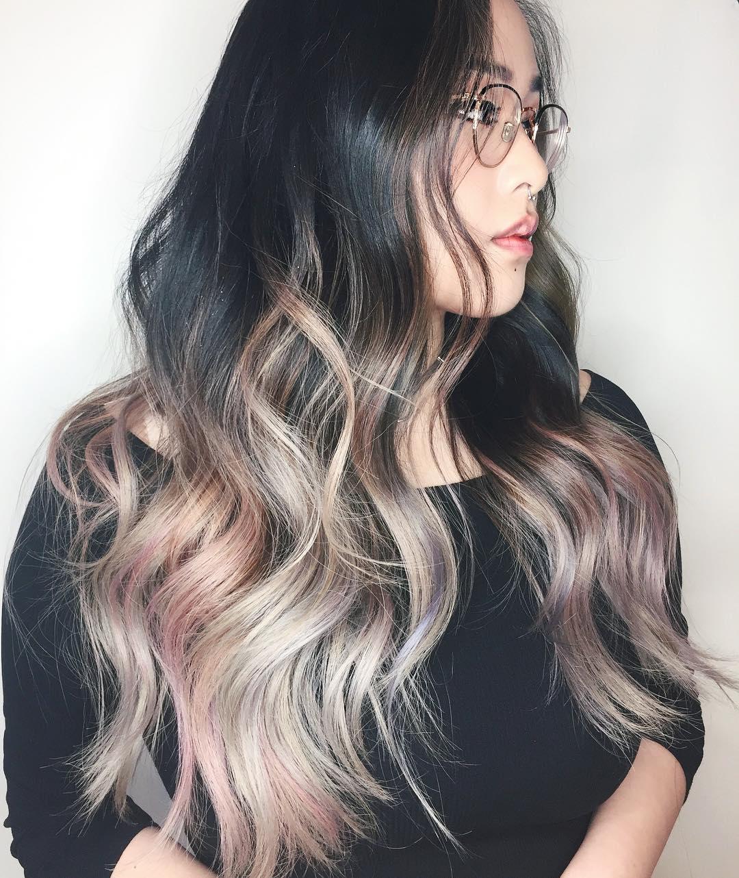 chrisweberhair-pink-highlights-for-black-hair