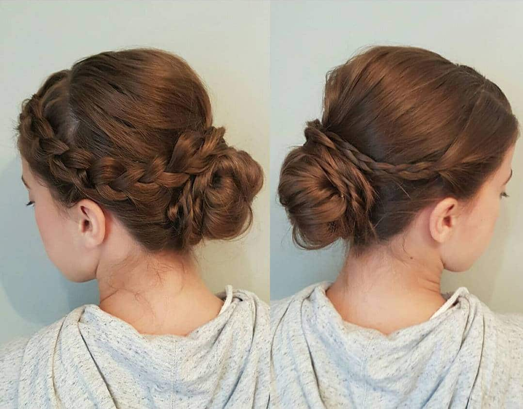 Hairbyjrabs Braided Updo Hairstyle For Long Hair