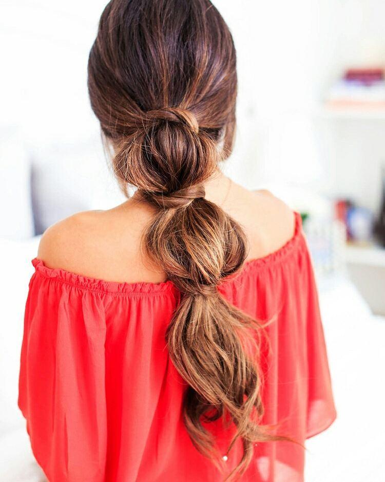 стильные прически с длинными волосами