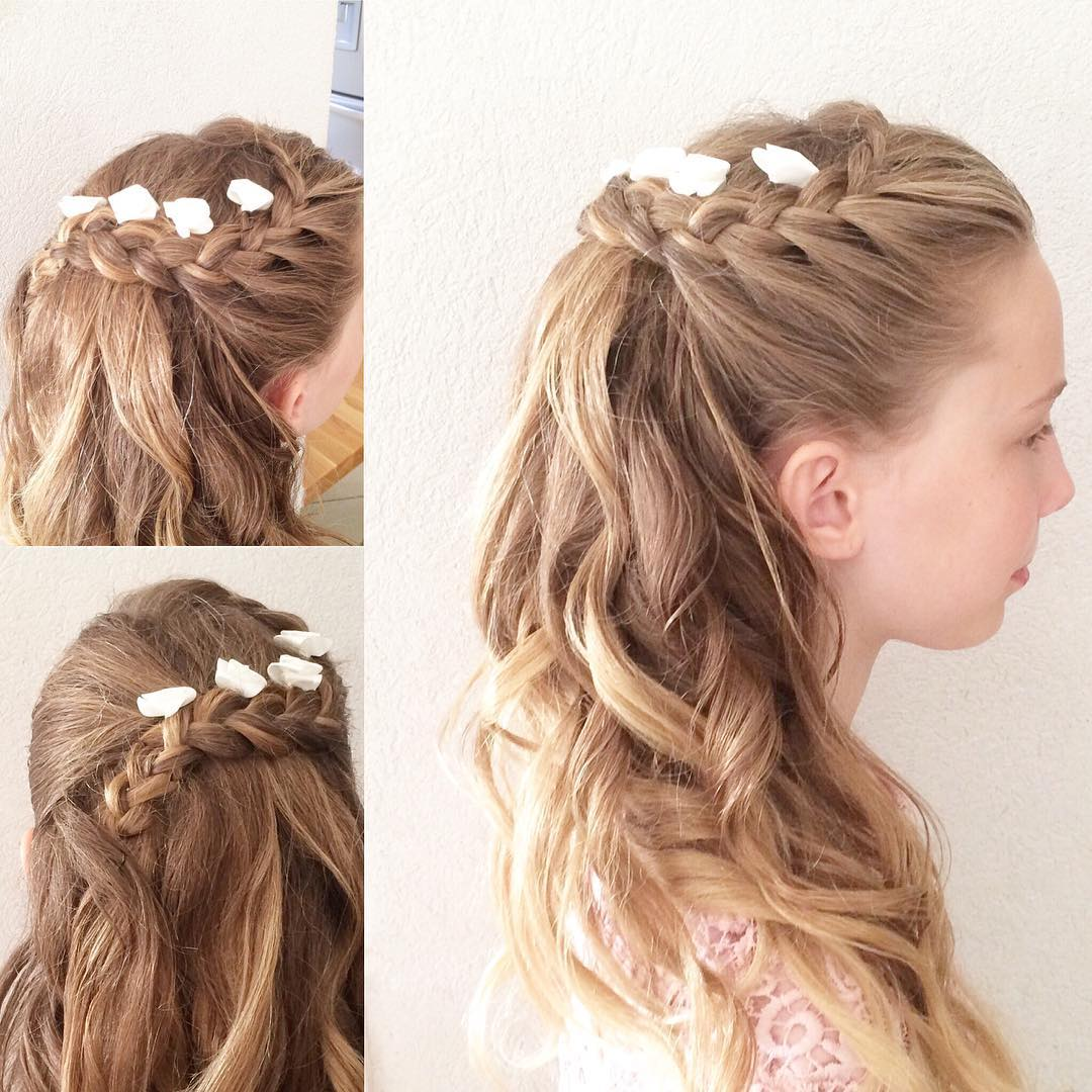 Bridesmaid Hairstyles With Braids